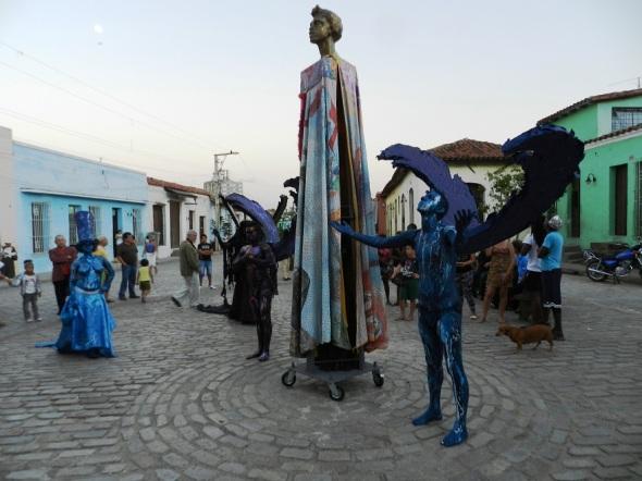 Proyecto Somos en la Plaza del Carmen en Camagüey
