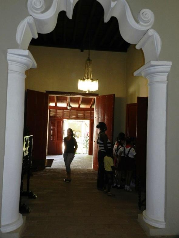 Sala en la Casa Quinta Simoni