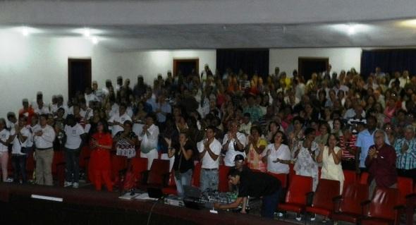 ALEGRIA en la Universidad de Camagüey, Ignacio Agramonte y Loynaz (Ucial) al recibir la categoría Superior de Acreditación de Institución Certificada