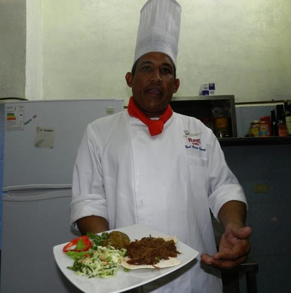 Alimento autóctono aborigen en restaurantes del oriente cubano, Foto Lázaro David Najarro