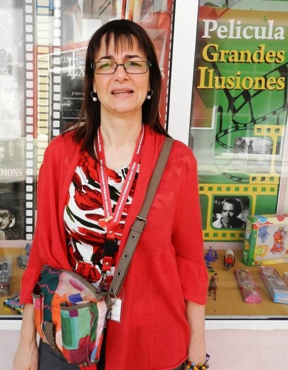 Catedrática española Ana María Novella,