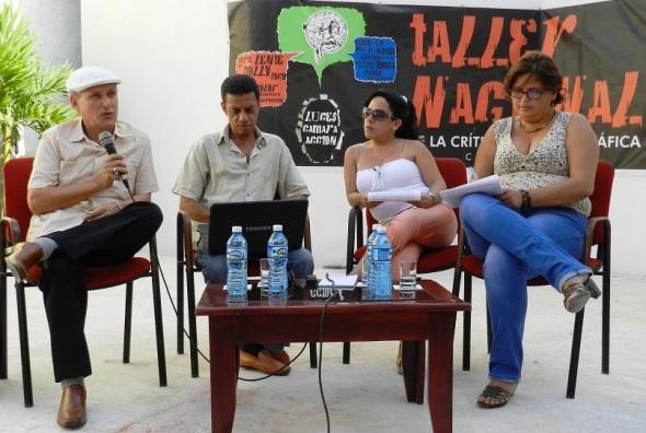 Comité organizador XXI Taller Nacional de Crítica Cinematográfica