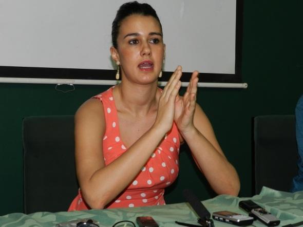 Coreógrafa española Carolina Pozuelo. Foto Lázaro David Najarro