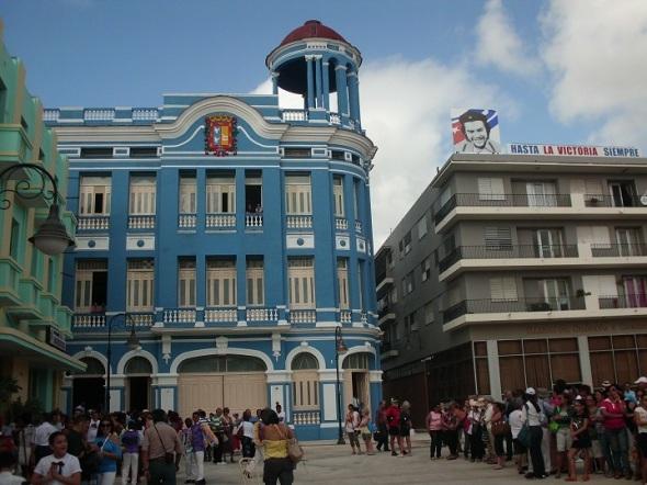 El actual Centro de Convenciones, edificación de valor arquitectónico