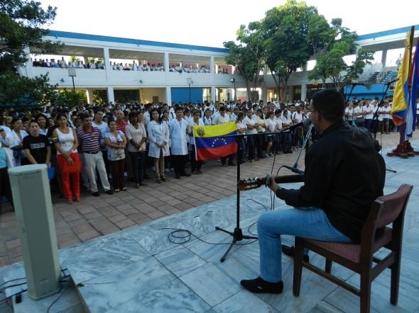 Homenaje musical a Hugo Chávez