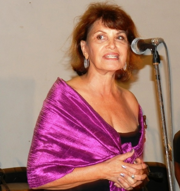 Mirtha Ibarra presentó el filme cubano Fátima o El parque de la Fraternidad, dirigido por Jorge Perugorría