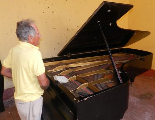 Piano de cola en la Casa Natal de Ignacio Agramonte (2)