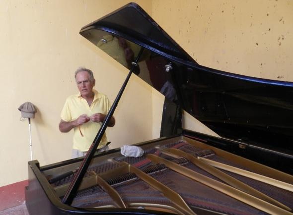 Piano de cola en la Casa Natal de Ignacio Agramonte (3)