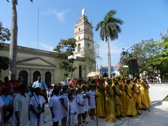 Ceremonia de inauguración Olorum 2015