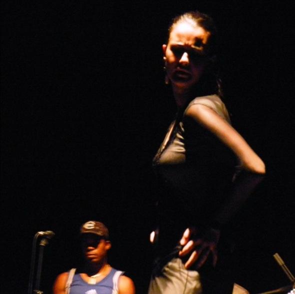 Coreógrafa y bailarina española Carolina Pozuelo en Camagüey