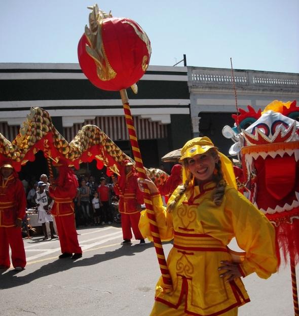 Cultura China presente en las Romerías de Mayo