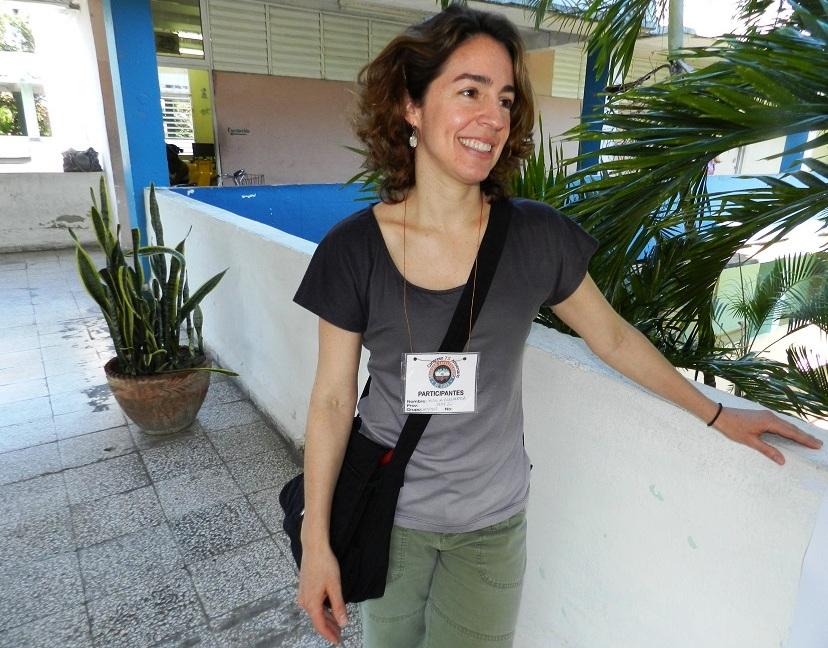 Doctora en Ciencias María Alejandra Pérez, profesora de geología de la Universidad de Virginia del Oeste (1)