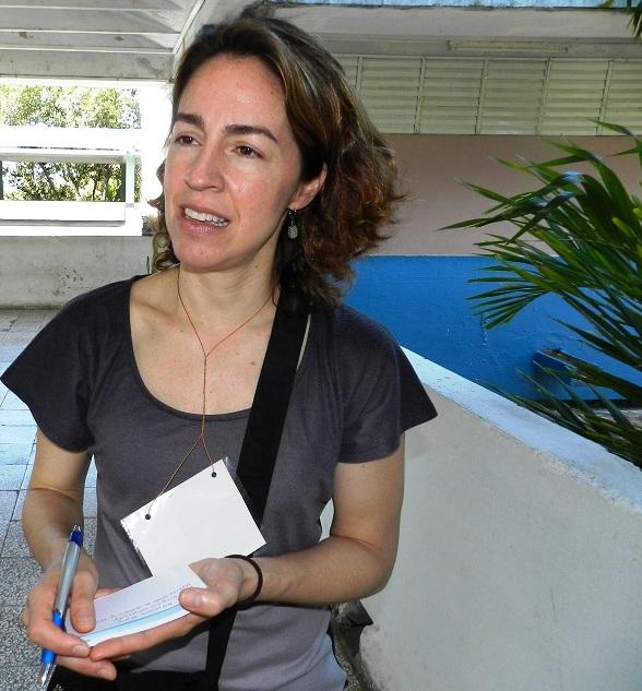 Doctora en Ciencias María Alejandra Pérez, profesora de geología de la Universidad de Virginia del Oeste (3)