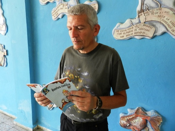 Espeleólogo cubano Abel Hernández
