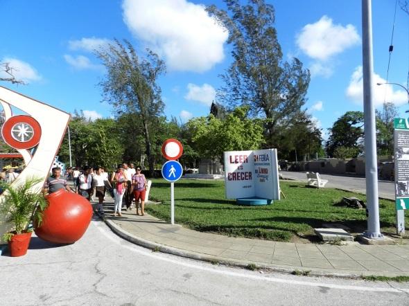 Feria Internacional del Libro en el Casino Campestre de Camagüey