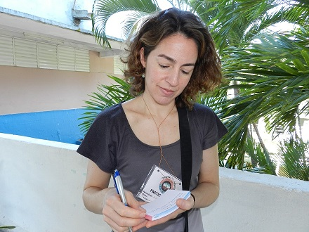 La doctora en Ciencias María Alejandra Pérez, profesora asistente de Geografía de la Universidad de Virginia del Oeste, Estados Unidos,