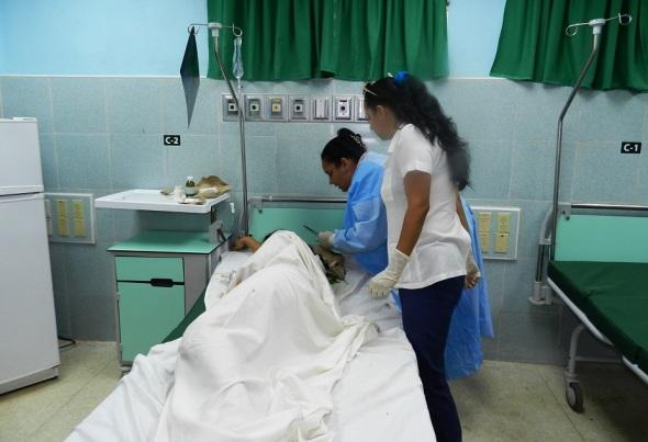 Los pacientes recibieron atenciones médicas inmediatamente