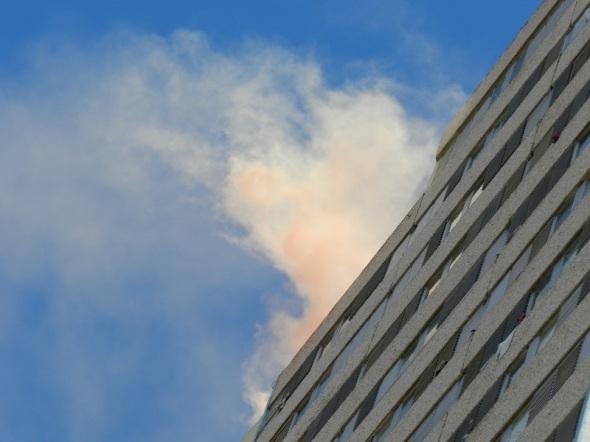 Simulacro de incendio en Edificio multifamiliar