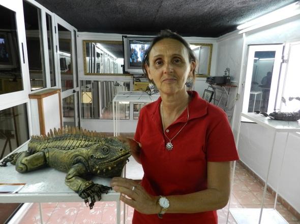 artista de la plástica cubana Sandra Navarro