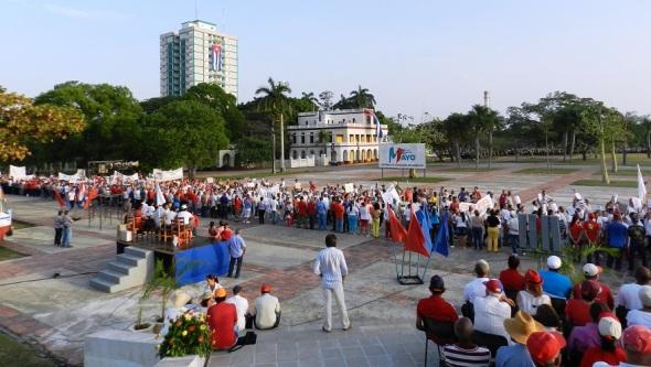 Día Internacional de los Trabajadores en Camagüey