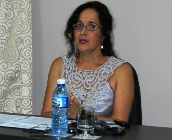 Directora de la Casa de la Diversidad cultural en Camagüey