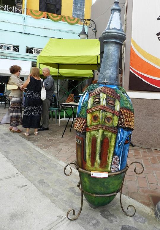 En Ciudad en Ánforas confluyen el recuerdo y la realidad de la trama urbana camagüeyana