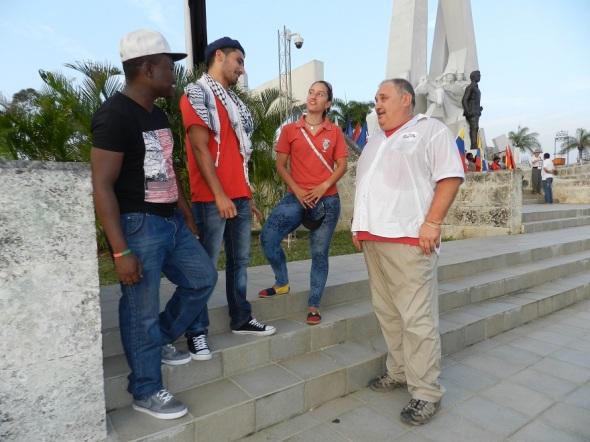 Extranjeros solidarios con Cuba