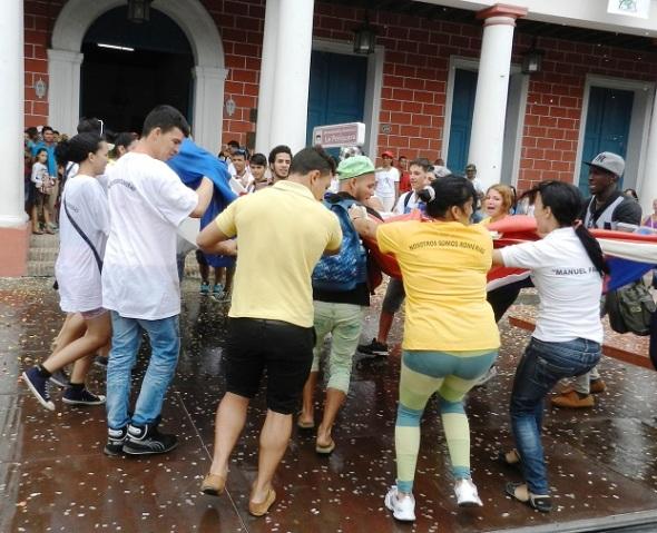 La fiesta del Arte Joven en Cuba