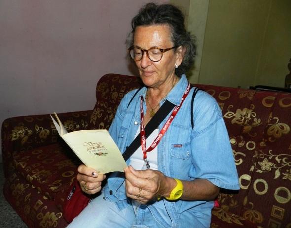La integrante española del yoga en la vida cotidiana María Jesús Martí