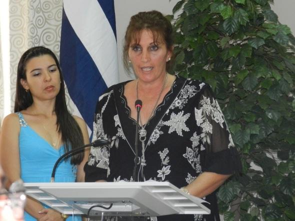 La master en ciencias María Antonieta Rioseco