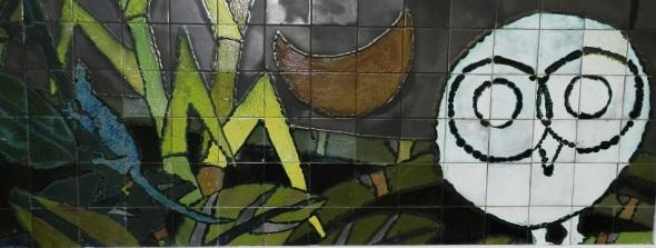 Mural en Festival Fuego y Barro