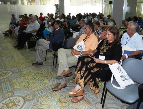 Participantes en V Jornada de la Diversidad Cultural para el Diálogo y el Desarrollo. Foto Lazaro David Najarro