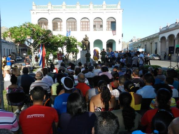 Resaltan antimperialismo de José Martí