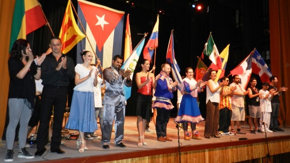 Una gala en la que participaron una representación de los cinco continentes