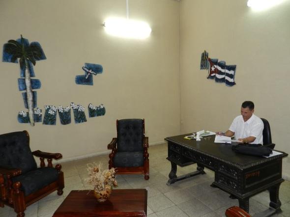 En el hogar de ancianos de Camagüey (3)