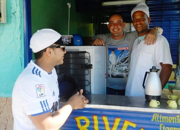 Trabajadores no estatales en el municipio de Colombia, Las Tunas