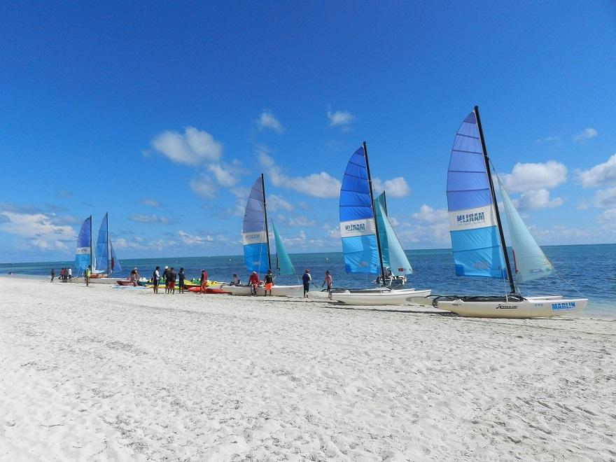 Un festival acuático-recreativo camagüeyano entre corales y arenas (2/6)