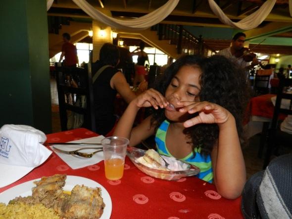 Luego de presenciar el festival una sana alimentación