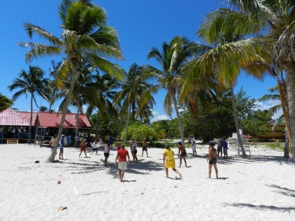 Resaltaron modalidades como voleibol de playa