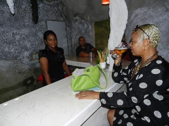 Bar del resturante Los Paredones