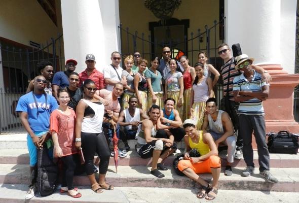 Compañia Folklórica de Camagüey. Foto Lázaro Najarro