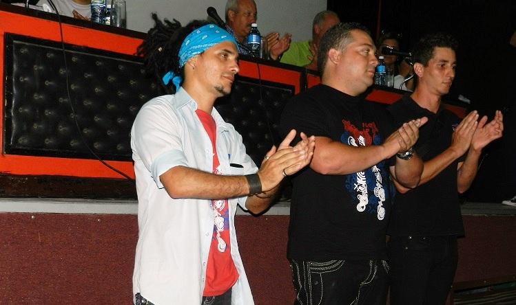 Dirección de la AHS en Camagüey,encabezada por Yunielkis Naranjo. Foto Lázaro Najarro