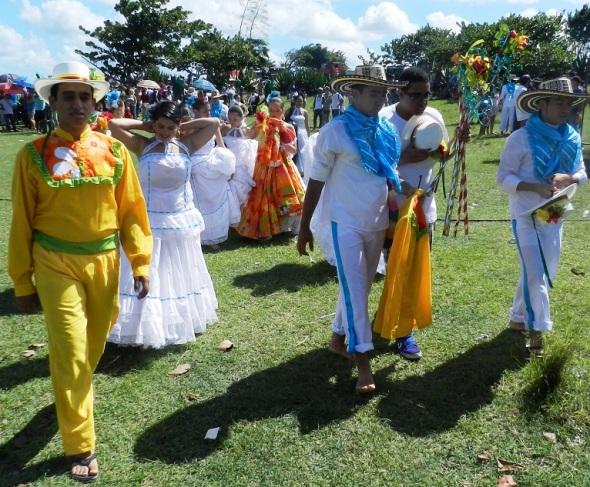 Fiesta de la cultura iberoamericana. Foto Lázaro D. Najarro Pujol