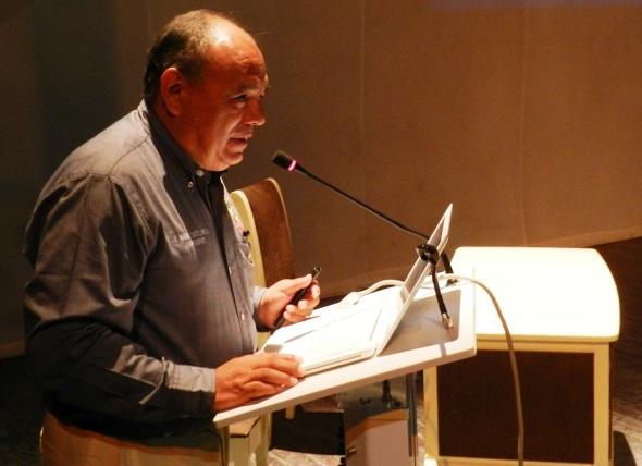 Presidente del Consejo Mexicano de ortopedia, doctor Mario Armando Castellanos González. Foto Lázaro D. Najarro Pujol