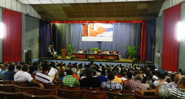 Sala teatro en Empresa de Fertilizantes y Plaguicidas Revolución de Octubre