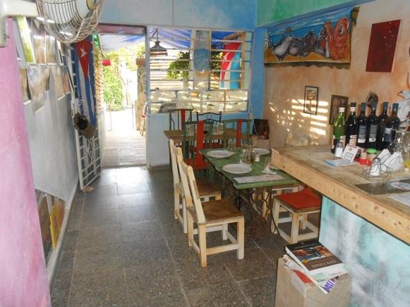 El restaurante ¡Che, Cubano! muy ambientado