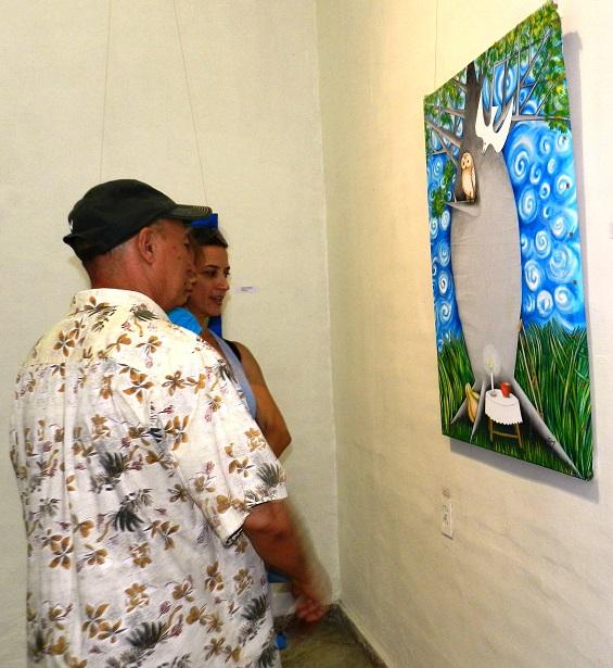 Exposición personal El Retorno, del artista Luis Ruz Reyes