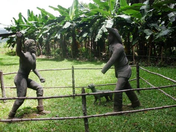 Hombres y mujeres obligados a desempeñar la dura labor en los ingenios azucareros huían hacia lo más intricado de la serranía para refugiarse en las cuevas