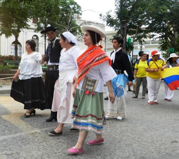 La danza siempre presente en la fiesta de la cultura iberoamericana