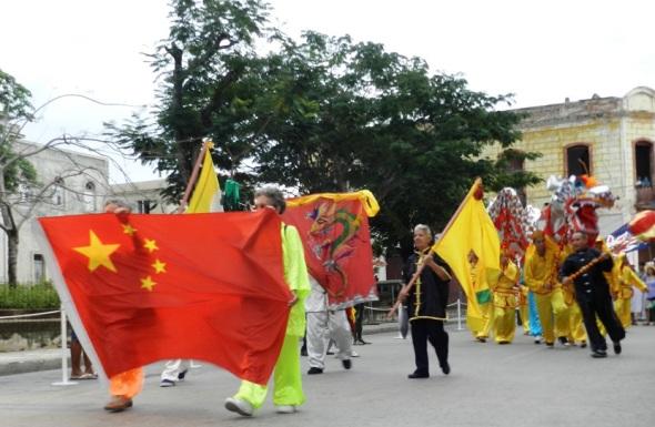 La presencia China en Holguín en la Fiesta de la Cultura Iberoamericana